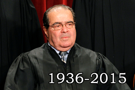 Antonin Scalia's dumb face