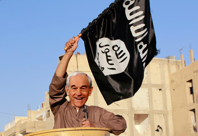 ron paul isis