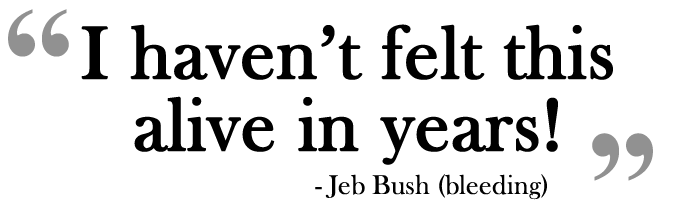 Jeb Bush Pull Quote