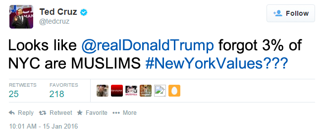 NYC Values Twitter
