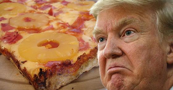 Trump Pizza Social