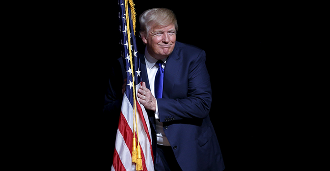 U.S. flag accuses Trump of inappropriate touching ...