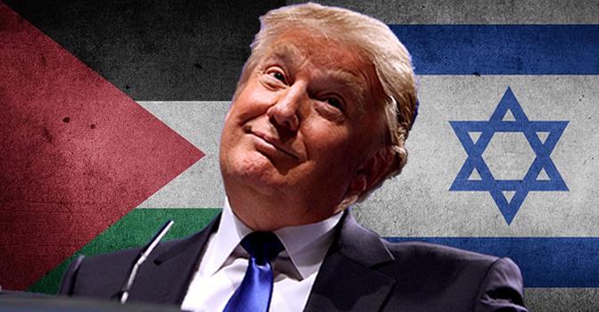 trump israel palestine