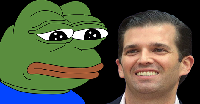 donald pepe?w=700 donald trump jr fans upset with lack of pepe memes in email